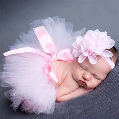 Set Tutu Setelan Tutu Anak princess newborn tutu and vintage headband newborn baby