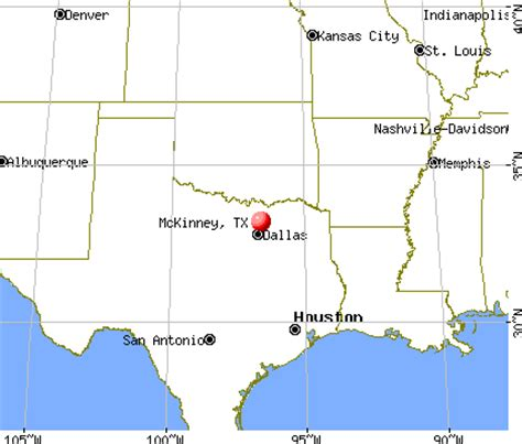 mckinney texas map mckinney texas map