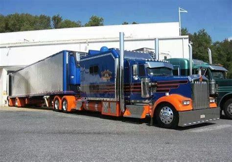 Semi Truck Condo Sleeper by Kenworth W900 Condo Sleeper Rigs