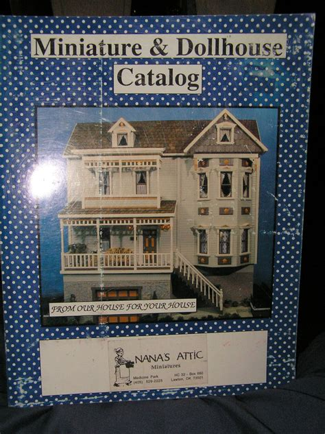 Chicago Miniature L Catalog by Miniature Dollhouse Catalog Chockers Of Great Ideas