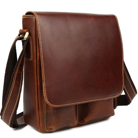 Leather Sling Bags new genuine leather shoulder messenger crossbody sling