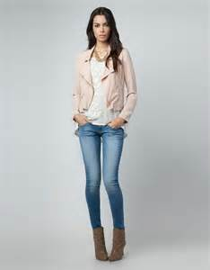 what goes with pink cute outfit ideas featuring a pink leather jacket