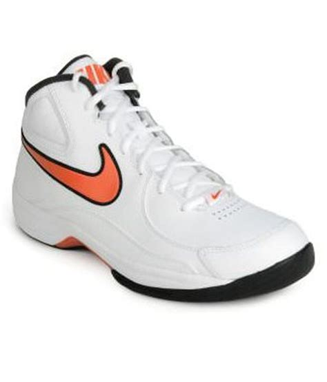 nike overplay white basketball shoes price in india buy