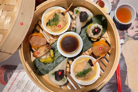 luckee restaurant new year susur on luckee s new year dim sum platter
