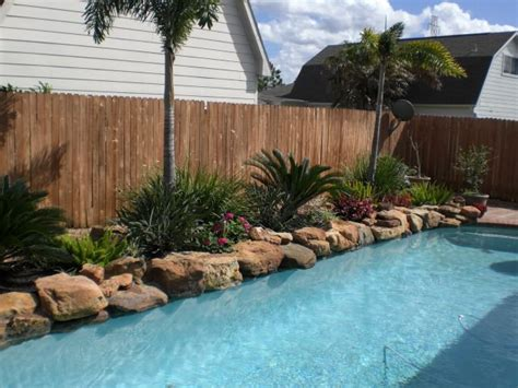 landscaping around pool ideas