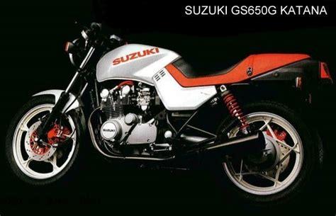 Suzuki 650 Katana Suzuki Suzuki Gs 650 G Katana Moto Zombdrive