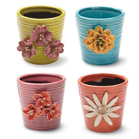 Ceramic Flower Planters by Foreside Home Garden Boho Pot Planter Reviews