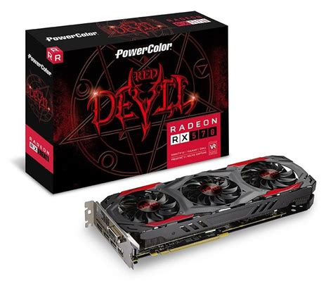 Powercolor Rx 570 4gb Gddr5 256bit powercolor announces fan rx 570 4gb