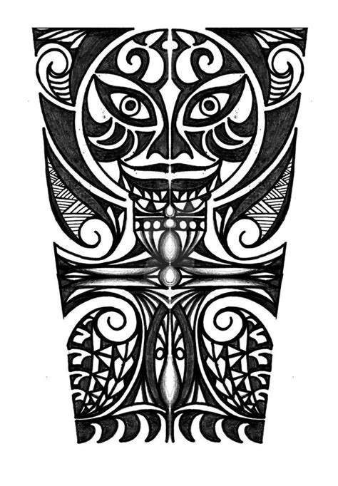 polynesian cross tattoo polynesian with cross forearm design by