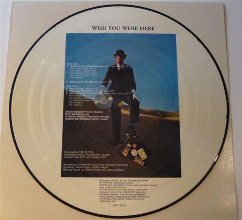 Where Were U In 92 Vinyl - pink floyd wish you were here lp picture disc in die