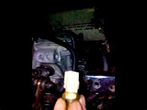 test capteur de température de liquide de refroidissement