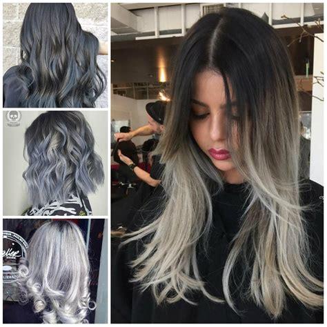 hairstyles 2017 grey hair unglaublichen schattierungen von grau haar trend f 252 r 2017