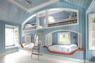 One Bed Bunk Bed Four One Room Bunk Beds Decoholic