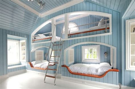 Four Bed Bunk Bed Four One Room Bunk Beds Decoholic