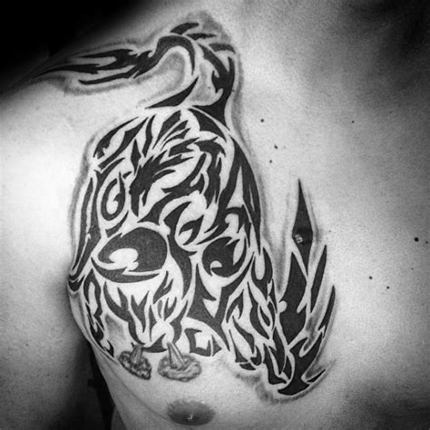 tribal longhorn tattoo collection of 25 choose tribal bull