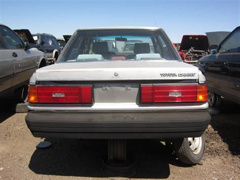 Toyota Finder Junkyard Find 1986 Toyota Camry The About Cars
