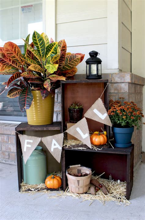 decorating your home for fall 6 easy ways to decorate your home for fall porch advice