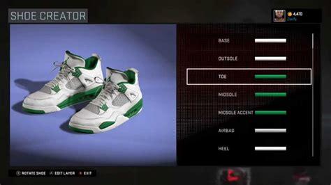 shoe creator nba 2k16 shoe creator air 4 custom quot boston