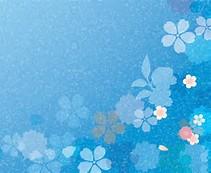 Blue Flower Desktop