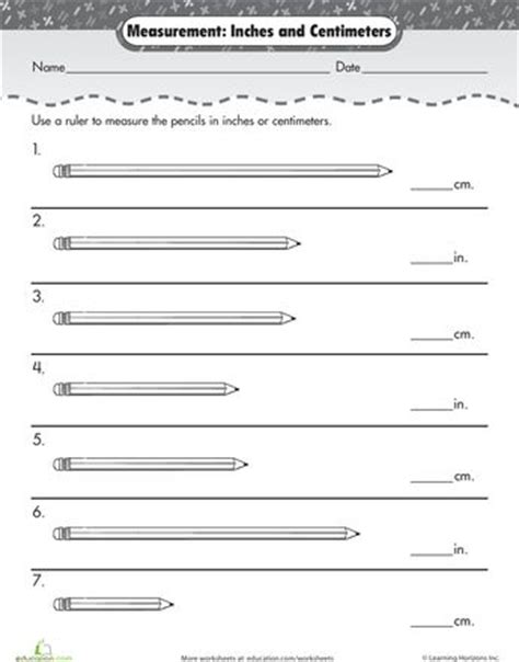 printable ruler 2nd grade measurement mania centimeters inches worksheets and
