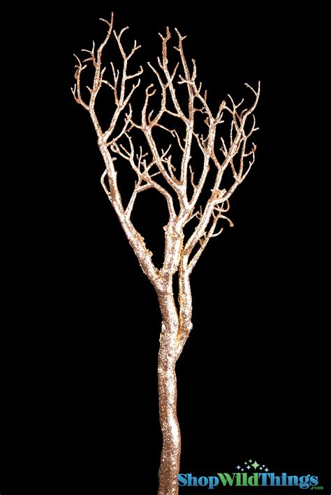 manzanita tree centerpiece branch gold wishing tree gold