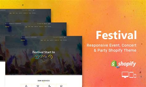 shopify event themes responsive website templates themes for your website
