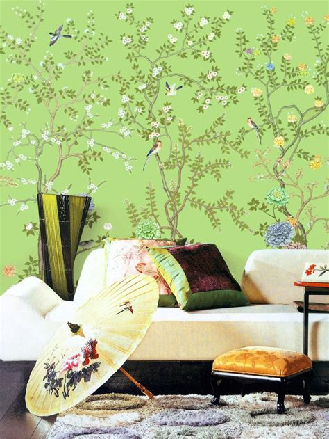 pin  colette conway  fabric wallpaper