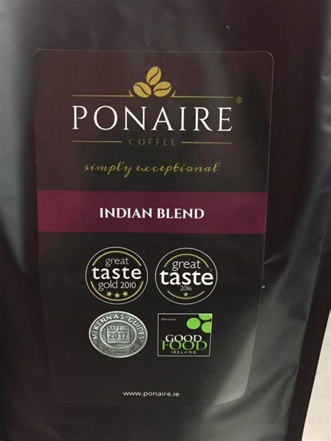 Malabar Washed Process indian blend ponaire