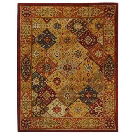 11 X 15 Area Rug Safavieh Heritage Multi 11 Ft X 15 Ft Area Rug Hg512a 1115 The Home Depot
