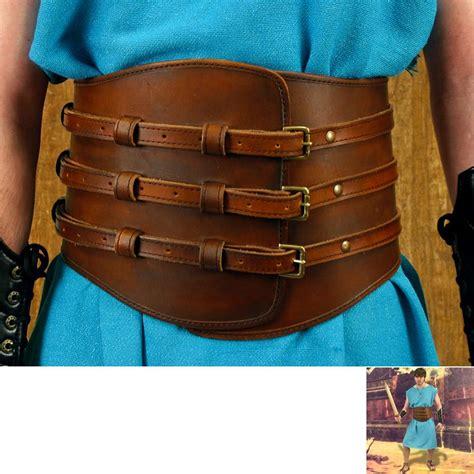 gladiator leather kidney belt