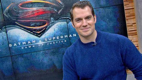 new guys on gma batman v superman henry cavill live on gma video