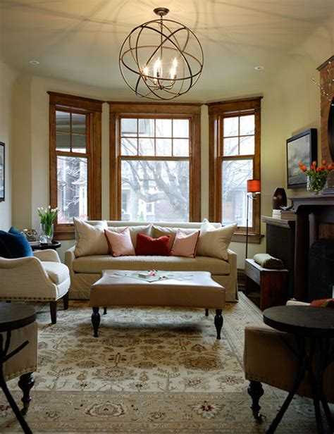 Decorating Ideas With Oak Trim Riverdale Living Room Traditional Living Room