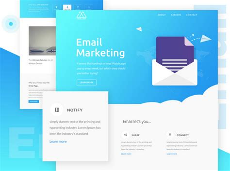 free newsletter templates for email best free html email templates of 2019 designmodo