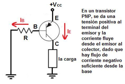 funcionamiento transistor npn y pnp diferencia entre los transistores npn y pnp
