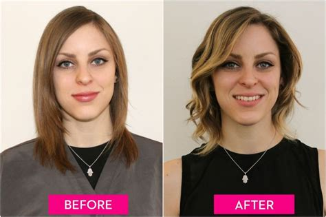 before and after pictures of hairstyles with fine thin hair 3 women tried hair contouring and scored some amazing