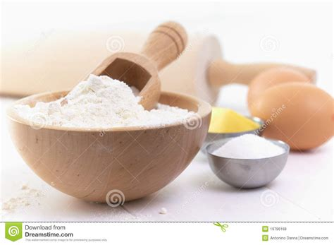 ingredients to make a cake stock photo image of cake