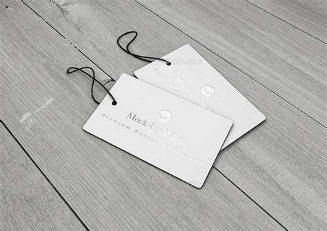 swing tag labels swing tag hang tag product label mock up by mock up