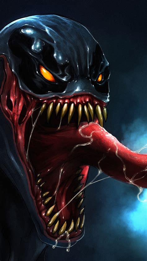 wallpaper venom marvel comics artwork  creative