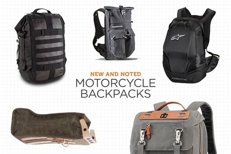 Motorrad Rucksack by New And Noted Motorcycle Backpacks Bike Exif