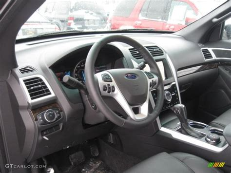 Ford Explorer 2011 Interior by Charcoal Black Interior 2011 Ford Explorer Limited 4wd