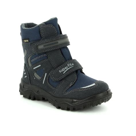superfit boots superfit husky tex 00080 80 navy boots
