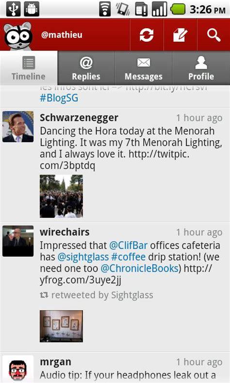 membuat blog versi android aplikasi buat twitter di android