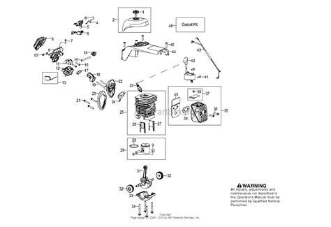 poulan parts diagram poulan pp5020av 966807601 2011 05 parts diagram for engine