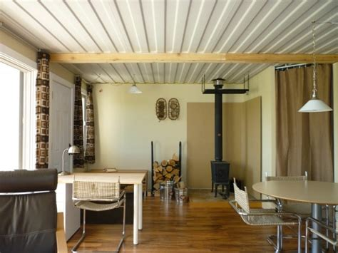 the shipping container cabin in perspective tin can cabin 3 shipping containers open to reveal one super stylish