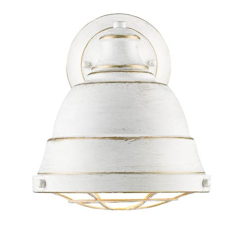 White Sconces Bartlett White One Light Wall Sconce With