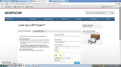 Upsp Address Lookup Usps Address
