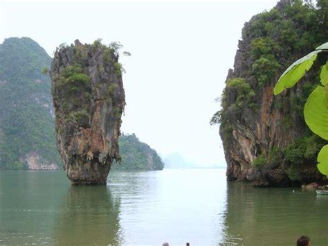 Beach House Plans by James Bond Island Ao Phang Nga National Park Thailand