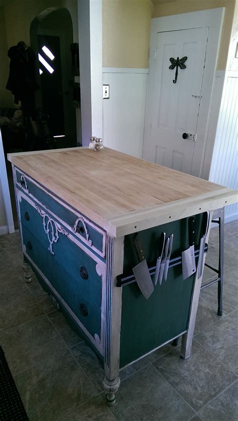 Repurposed Kitchen Island Ideas Repurposed Dresser Kitchen Island Bestdressers 2017