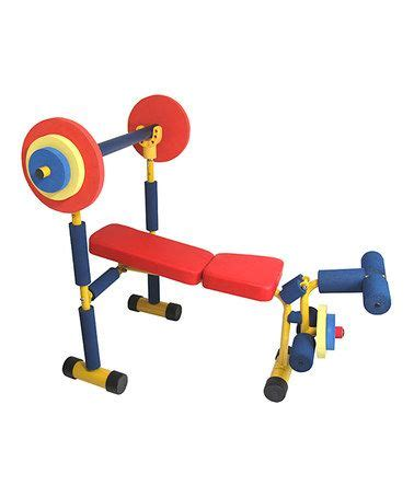 kids workout bench weight bench set benches and weights