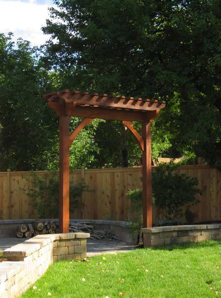 Corner Bench Arbors And Trellises Timber Kits Western Timber Frame